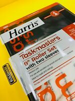 "HARRIS PAINT EMULSION ROLLER TRAY SET 9"" AND 2 FREE SLEEVES *LIMITED OFFER*"