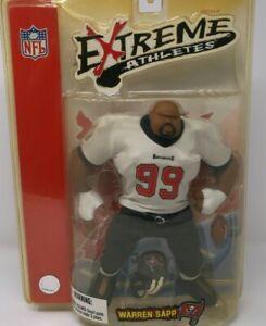 NFL Extreme Athletes Warren Sapp #99 Tampa Bay Buccaneers Action Figure