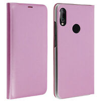 Flip Book cover, wallet case with stand for Xiaomi Redmi Note 7 - Pink