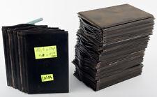 2x Glass Plate Film Holder w/ Darkslide Negative 9x12 Goerz Ernemann Voigtlander