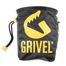 Grivel Lightweight Climbing Chalk Bag Black with Waist Strap