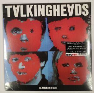Talking Heads – Remain In Light - 180g LP Vinyl Record - NEW Sealed - Art Rock