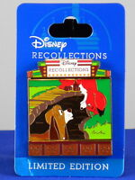 Disney 2017 RESORTS QUARTERLY COLLECTION Fox and the Hound Young Old LE 3000 Pin