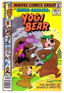 YOGI BEAR #1 a 1977 Marvel Hanna-Barbera Bronze Age comic in VF condition