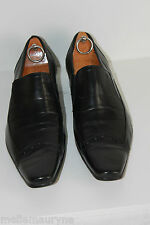 ALBERTO DONATONE Shoes Men Leather Black Made In Italy T 43 TBE