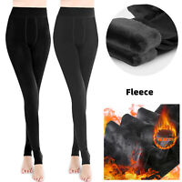 Super Thick Cashmere Leggings Tight High Waist Pants Warm Pants Thermal Stretchy