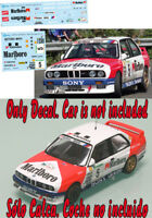 Decal 1:43 John Bosch - BMW M3 - Rally El Corte Ingles 1991