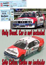 Decal 1:43 John Bosch - BMW M3 - Rally El Corte Ingles 1991