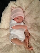 Reborn tiny baby Grace from Heather Boneham's Faith