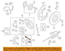 AUDI OEM 13-15 A8 Quattro-Disc Brake Pad Electronic Wear Sensor 4G0615121D