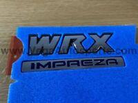 """WRX Impreza"" Trunk Emblem to suit Surbaru Impreza WRX 2006-2007"