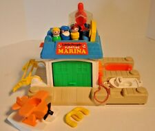 Vintage Fisher Price Little People #2582 Floating Marina Complete **
