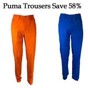 Puma Golf 6 Pocket Tech Lightweight & Breathable Rickie Fowler Golf Trouser P...