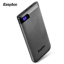 Easyacc 10000mAh Portable Ultra Polymer LCD Dual Output Type-C Ports Powerbank