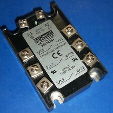 CROUZET 4-32VDC CONTROL VOLTAGE 3-PHASE SOLID STATE RELAY GA3-12D10R *PZB*