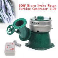 500W/600W Micro Hydro Water Turbine Generator Hydroelectric Magnet Copper Core