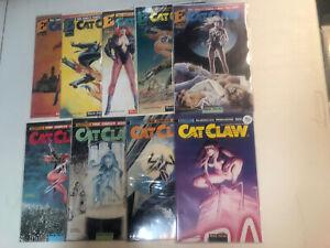 Cat Claw (1988) #1 2 3 4 5 6 7 8 9 1-9 (VF/NM) Complete Set Bane Kerac Eternity
