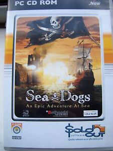 SEA DOGS---AN EPIC ADVENTURE AT SEA---RPG GAME---PC CD---MINT---FREE POST
