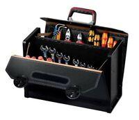 PARAT 16.000.571 Rindleder-Werkzeugtasche mit Mittelwand CP-7 TOP-LINE
