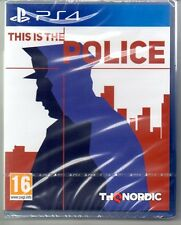 This Is The Police  'New & Sealed'   *PS4(Four)*