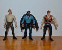 STAR WARS POTF2 HAN SOLO & LANDO CALRISSIAN LOOSE ACTION FIGURE LOT KENNER