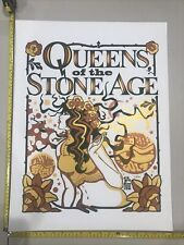 Queens Of The Stone Age Rare Numbered Sill Screened Poster Fillmore Miami