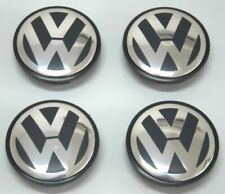 4Pcs Wheel Center Caps Hub Cover Logo Emblem Badge For Volkswagen VW 65mm