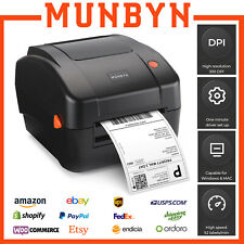 Munbyn 4x6 Shipping Label Printer Usb Thermal Barcode Label Maker Windows Amp Mac