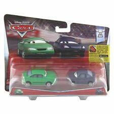 Mattel Disney Pixar Cars 2-pack Dan Sclarkenberg & Kim Carllins DHL16
