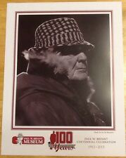 Bear Bryant 100th Anniversary  Alabama Football Photo #7