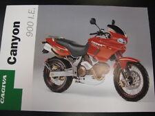 Brochure Cagiva Canyon 900 I.E. (Engels)