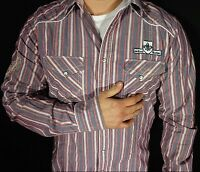 Mens Button Down Long Sleeved Rock Revival Shirt NWT NEW Size L & XL RWS015L