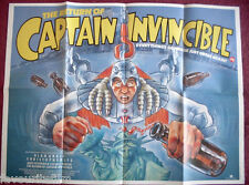 Cinema Poster: RETURN OF CAPTAIN INVINCIBLE, THE (Quad) 1984 Alan Arkin