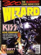 Wizard Magazine#186 April 2007 (KISS Variant)