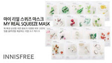 10pcs[INNISFREE]NEW My Real Squeeze Maskpack ROSE special facial Mask sheet pack