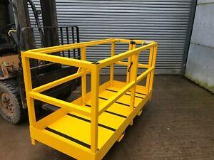 Forklift Safety Access Platform Man Cage Basket  2m - Side Gate £750 + VAT