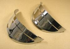 1940 57 Pontiac All Accessory Headlamp Headlight Visors Pair, C5005RPS