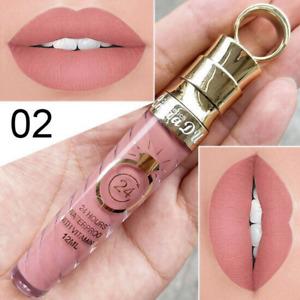 Makeup Matte Liquid Lipstick Long Lasting Waterproof Shimmer Lip Gloss Makeup