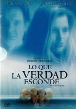 PELICULA DVD LO QUE LA VERDAD ESCONDE EDICION ESPECIAL + FUNDA HOLOGRAFICA