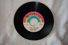 Dora Hall I Got You Babe / Hang On Sloopy 45 rpm EX 7 inch vinyl