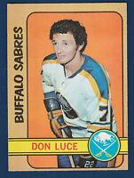DON LUCE 72-73 O-PEE-CHEE 1972-73 NO 95 EXMINT+ 5
