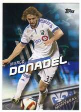 2016 Topps MLS Soccer Blue Parallel /99 #51 Marco Donadel Montreal Impact