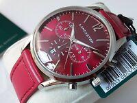 Orologio Cronografo Uomo LANCASTER Men's Vintage Style Chrono Watch € 150 NUOVO