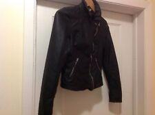 Abercrombie Kids Faux Leather Jacket Sz XL (16)