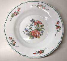 Lot1 De 6 Assiettes Creuse Vintage Arc Arcopal France D 22,7 Cm Décor Floral