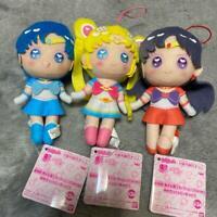 Movie Sailor Moon Eternal Plush Yume Chick Doll Vol.1 All 3types set Banpresto
