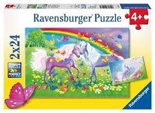 Ravensburger Rainbow Horses 2x24pc Puzzle 09193