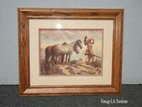 Vintage Picture of the 'Horse Trader' 1935 Print by Herbert M. Hegert
