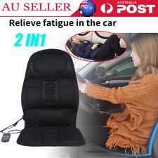 7 Motors Vibration Massage Chair Pad Seat Cushion w/ Heat for Home Office Car AU