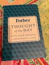 Forbes Thought Of The Day Book Five Year Journal
